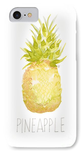 Pineapple IPhone 7 Case by Cindy Garber Iverson