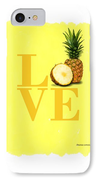 Pineapple IPhone 7 Case by Mark Rogan