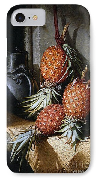 Pineapples, Circa 1880 IPhone Case