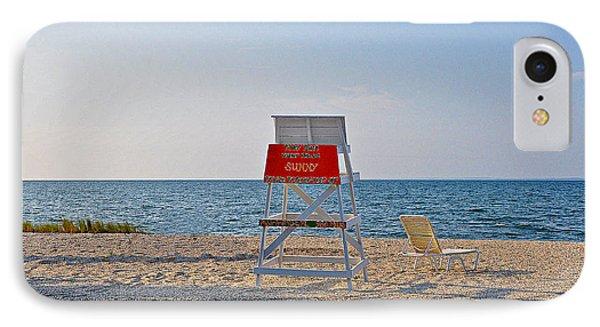 Piney Point Beach Phone Case by Bill Cannon