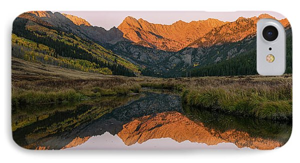 IPhone 7 Case featuring the photograph Piney River Panorama by Aaron Spong