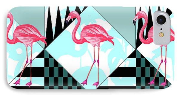 Ping Flamingo IPhone 7 Case by Mark Ashkenazi