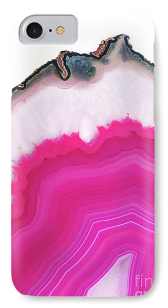 Pink Agate IPhone Case by Emanuela Carratoni
