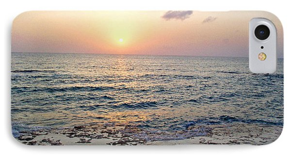 IPhone Case featuring the photograph Pink And Purple Sunset Over Grand Cayman by Amy McDaniel