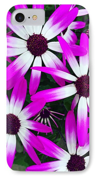 Pink And White Flowers IPhone Case by Vizual Studio