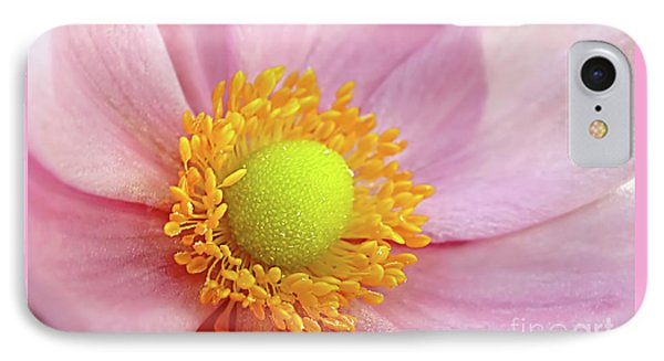 Pink Anemone Phone Case by Kaye Menner