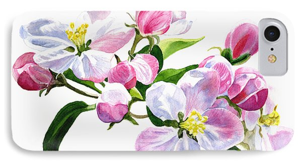 Pink Apple Blossoms IPhone Case by Sharon Freeman