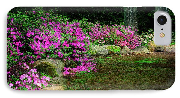 Pink Azaleas At The Azalea Festival IPhone Case by Tamyra Ayles