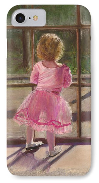Pink Ballerina Phone Case by Kathy Wood
