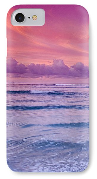 Pink Bliss -  Part 1 Of 3 IPhone Case by Sean Davey