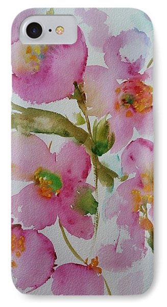 Pink Bloom IPhone Case by Kathy  Karas