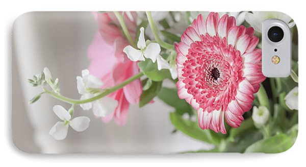 IPhone Case featuring the photograph Pink Blooms Love by Kim Hojnacki