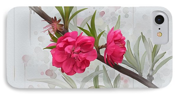 Hot Pink Blossom IPhone Case by Ivana Westin