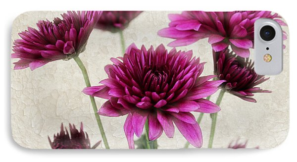 Pink Bouquet IPhone Case by Judy Vincent