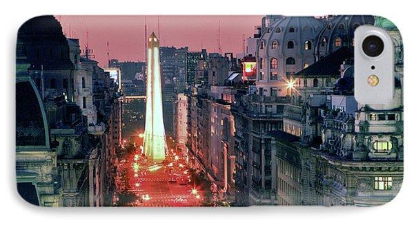 Pink Buenos Aires  IPhone Case by Bernardo Galmarini
