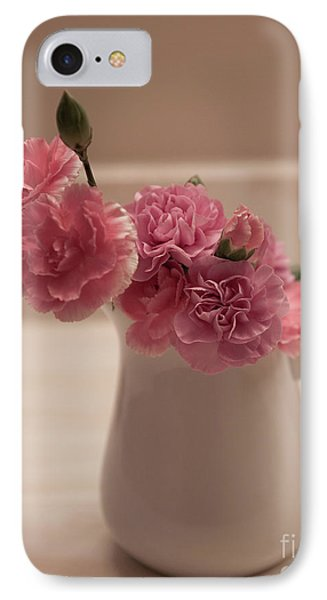 Pink Carnations IPhone Case by Sherry Hallemeier