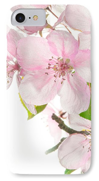 Pink Crabapple Blissoms IPhone Case
