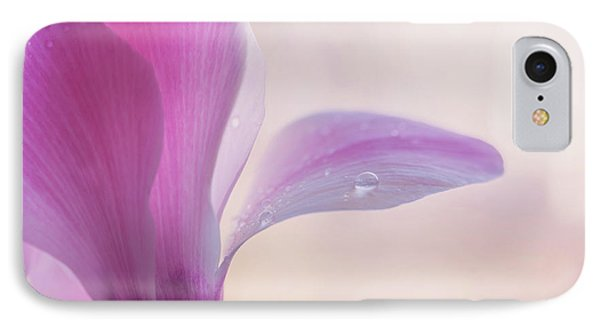 Pink Cyclamen Flower IPhone Case