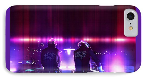 Pink Daft Punk - 61 IPhone Case