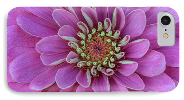 IPhone Case featuring the photograph Pink Dahlia by Dale Kincaid