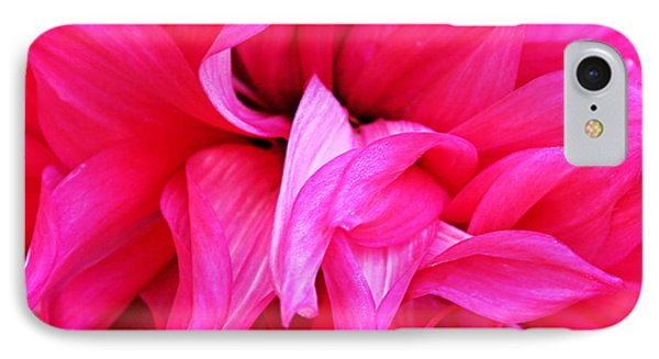 IPhone Case featuring the photograph Pink Dahlia by Kristin Elmquist