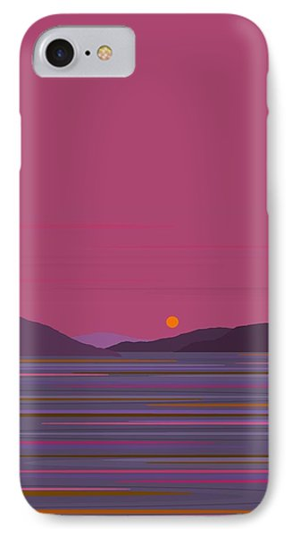 Pink Dawn IPhone Case by Val Arie