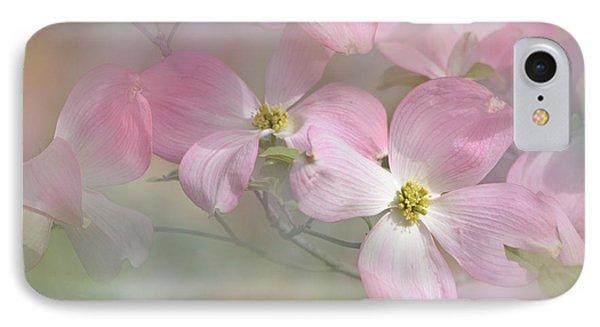 Pink Dogwood 02 IPhone Case by Ann Bridges
