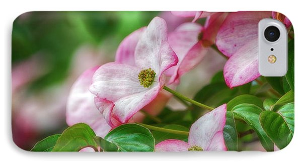 IPhone Case featuring the photograph Pink Dogwood by Bonnie Bruno
