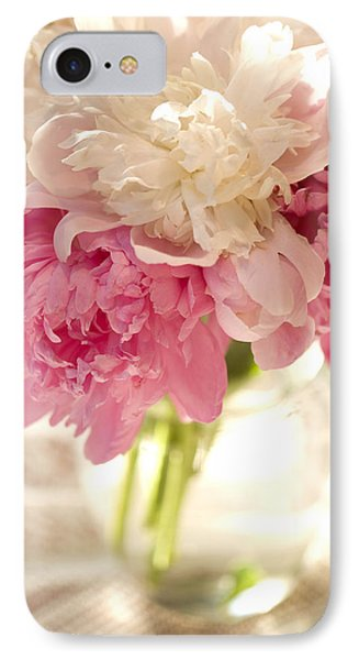 Pink Floal IPhone Case by George Robinson