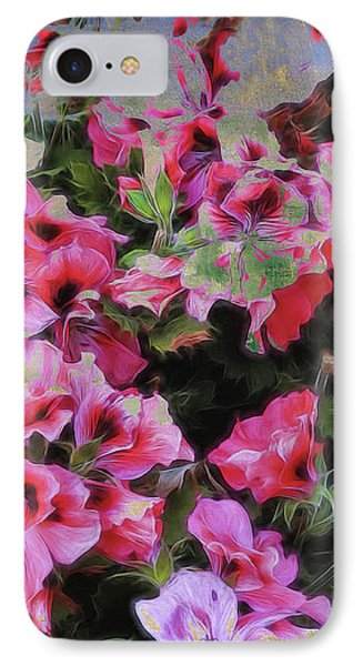 IPhone Case featuring the photograph Pink Flower Fantasy by Ann Powell