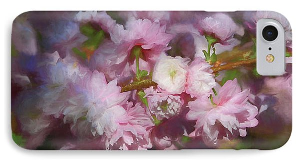 IPhone Case featuring the photograph Pink Flowering Almond by Donna Kennedy