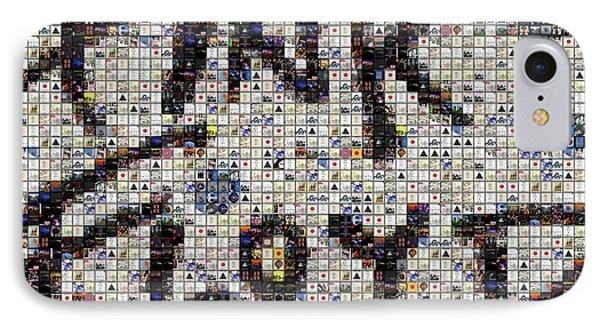 Pink Floyd Albums Mosaic Phone Case by Paul Van Scott