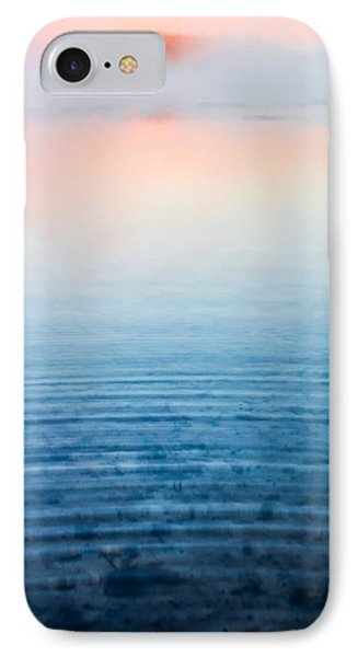 Pink Fog At Sunrise IPhone Case by Shelby  Young