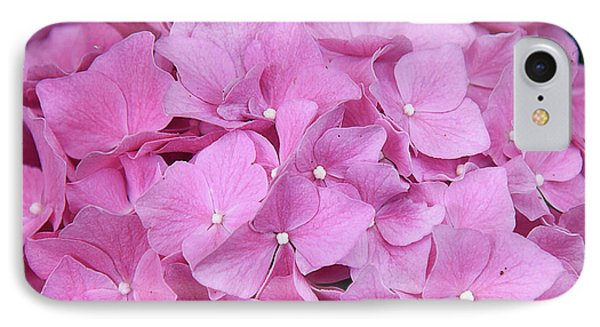 Pink Hydrangea IPhone Case by Elvira Ladocki