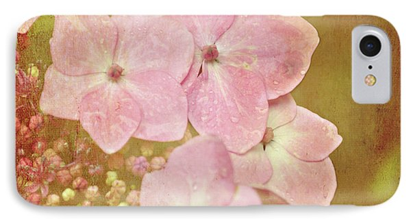 IPhone Case featuring the photograph Pink Hydrangeas by Lyn Randle