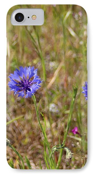 IPhone Case featuring the photograph Pink In Between by Marie Neder