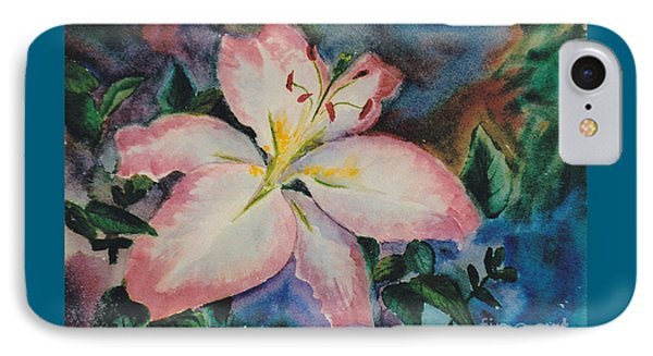 Pink Lily IPhone Case by Brenda Thour