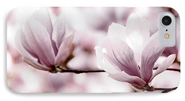 Pink Magnolia IPhone Case by Elena Elisseeva