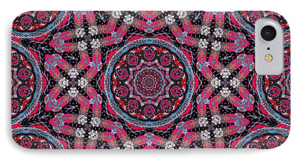 Pink Mandala IPhone Case by Natalie Holland