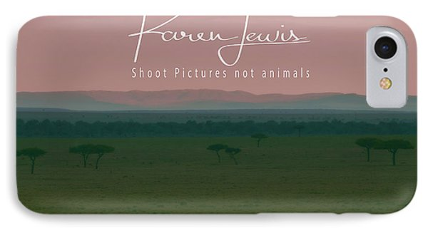 IPhone Case featuring the photograph Pink Mara Dawn by Karen Lewis