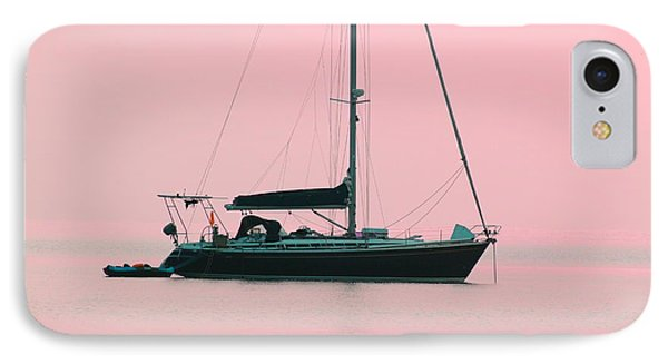 IPhone Case featuring the photograph Pink Mediterranean by Richard Patmore