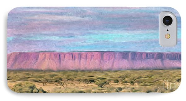 Pink Mesa IPhone Case by Walter Colvin