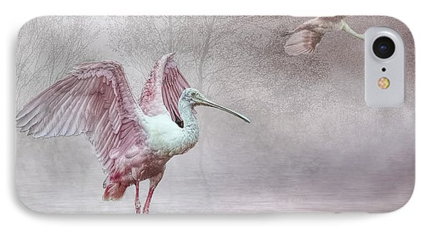 Pink Mist IPhone Case by Brian Tarr