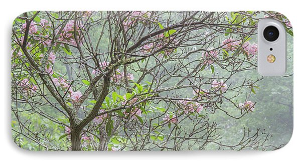 IPhone Case featuring the photograph Pink Mountain Laurel by Chris Scroggins