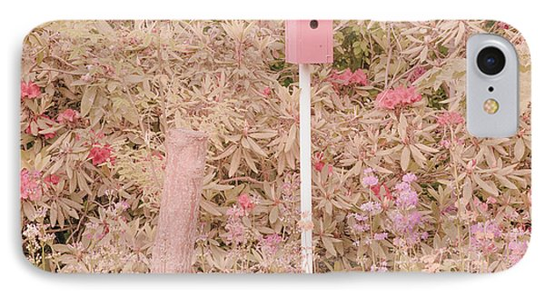 IPhone Case featuring the photograph Pink Nesting Box by Bonnie Bruno