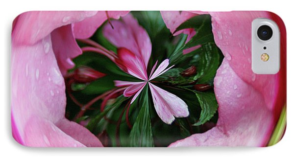 IPhone Case featuring the photograph Pink Orb by Bill Barber