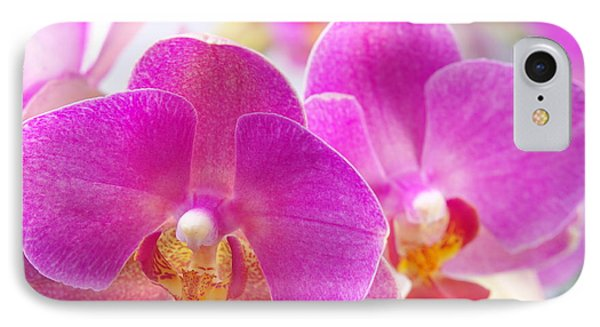 IPhone Case featuring the photograph Pink Orchid by Dariusz Gudowicz