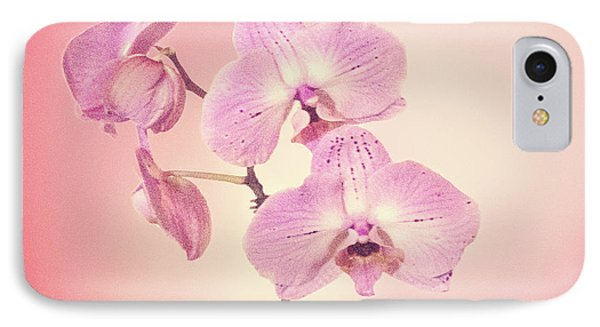IPhone Case featuring the photograph Pink Orchids 2 by Linda Phelps