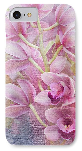 IPhone Case featuring the photograph Pink Orchids by Ann Bridges