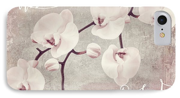 Pink Orchids IPhone Case by Mindy Sommers